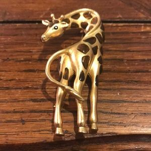 Fernando Originals giraffe Brooch